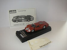Voiture miniature FORD Mark IV Le Mans 1967 Solido
