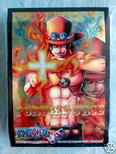 JAPAN BANDAI LTD Miracle Battle Carddass ONE PIECE ACE OFFICIAL CARD SLEEVE 60P