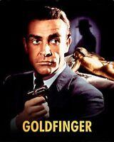 James Bond 007 SEAN CONNERY GOLDFINGER Kunst 10x8 Foto