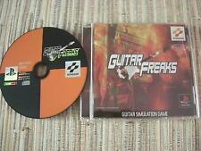 GUITAR FREAKS GUITARFREAKS KONAMI PLAYSTATION 1 PS 1 JAPONÉS USADO BUEN ESTADO