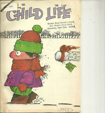 Child Life Magazine January 1985 New Year Cover Snowball