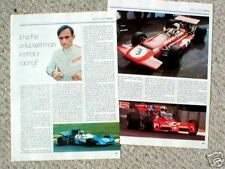 CHRIS AMON F1 Formula One  Article/Photo's/Picture's