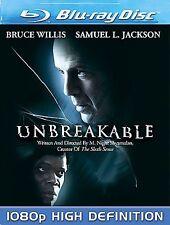 Unbreakable *Like New* (Blu-ray Disc, 2008) Bruce Willis