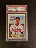 💥💥 RONALD ACUNA JR 2018 TOPPS HERITAGE #580 ROOKIE PSA 10 GEM MINT