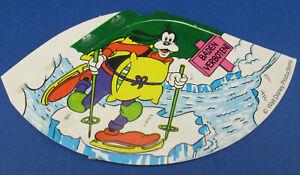 HÜTCHEN - Disney-Motive - Goofy - Dunkelgrüner Hintergrund - Ü-Ei