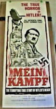 "RARE COLLECTIBLE AUTHENTIC ORIGINAL MEIN KAMPF - FOLDED MOVIE POSTER 14"" x 36"""