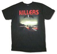 The Killers Album Cover Battle Born Tour 2014 Black T Shirt New Official Band