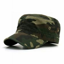 Forest Woodland Camo Camouflage GI Cadet Military Army Castro Patrol Hat Cap