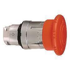 Schneider Telemecanique ZB4BS844 40mm/22mm c/o Emerg/Stop Red Mushroom Head
