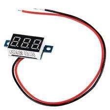 Mini Digital Voltmeter LED Spannungsanzeige Panelmeter 3.3-30V Rot GY L7K3