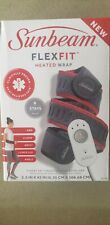 Sunbeam Flexfit Electric Heating Pad Wrap for Pain Relief Arm Elbow Wrist Ankle