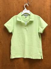 Womens Polo Shirt, Mint Green, 100% Cotton, Size S