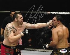 Tim Sylvia Signed UFC 81 8x10 Photo PSA/DNA COA 2008 Picture Fight of the Night