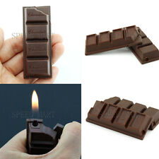 Chocolate Shaped Lighter Refillable Butane Gas Fire Torch Cigar Cigarette Smoke