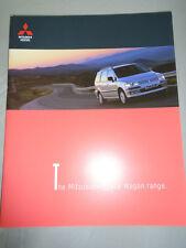 Mitsubishi Space Wagon range brochure Apr 1999