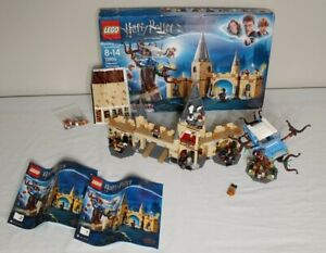 LEGO Hogwarts Whomping Willow Harry Potter # 75953 w/ Manuals & Minifigures