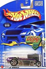 Hot Wheels 048 Rocket Oil Special 2002 1st Editions 36/42 Race&Win Car/Card Mint