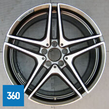 "NEW GENUINE MERCEDES C63 19"" 5 DOUBLE SPOKE AMG REAR ALLOY WHEEL A2054012000"