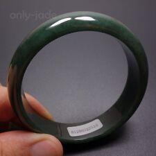 Green Jadeite Jade Bangle Bracelet 05083 58mm Certified Grade A 100% Natural Oil