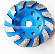 "4"" Diamond Segment Grinding CUP Wheel Disc Marble Grinder Terrazzo Granite Stone"