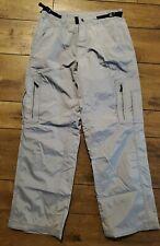 Oakley Blue Gray Snowboard Ski Snow Pants For Men, Medium/Adjustable Waist