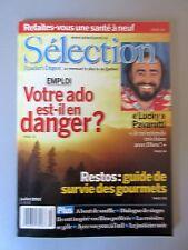 """Selection Reader's Digest Magazine Juillet 2002  """"Votre Ado est-il en Danger ?"""