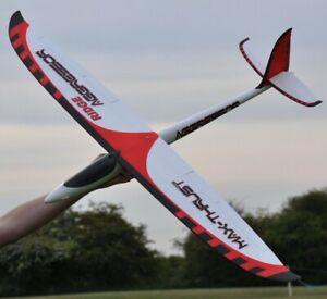 Max Thrust Aggressor Ridge Glider Slope Soarer PNP Inc Servos