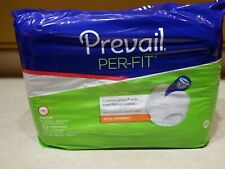 Case (80) Prevail Extra Absorbency Comfort-Shape Plus MEDIUM Form Fitting PF-512