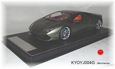 KYOSHO j004g Lamborghini Huracán gris métallisé - 1:18 # Neuf Emballage