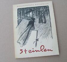 Théophile Alexandre Steinlen - Lot de 2 Catalogues - [1953 & 1968]