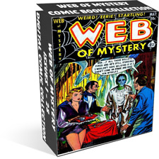 Web of Mystery – 28 Issues – Golden Age Digital Comic Books on CD