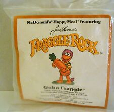 McDonald's Happy Meal Toy Fraggle Rock Henson 1987 Gobo Holding Carrot Vintage