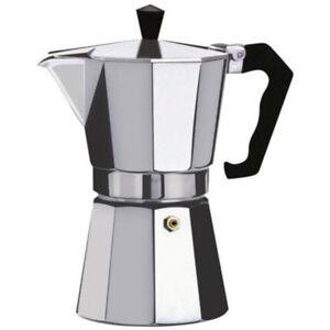 Espresso Stove Top Coffee Maker  Continental Moka Percolator Pot ,2,3,6,12 cup