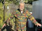 Belgische Armee Tarn Combat Jacke XL Neuwertig