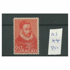 Curacao 103 Geboortedag Willem I  MNH/postfris  CV  7,5 €