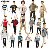 Fashion 1:6 Boy Top Doll Clothes Outfit for Barbie Boyfriend Ken Doll Kids Toy