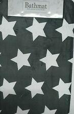Scendibagno Tappetino da bagno Stars Stelle shabby retrò bianco grigio