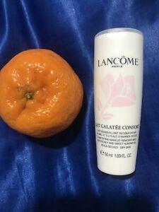 Lancome Comfort Makeup Remover Milk Honey Almond Oil Dry Skin 50ml Travel Size