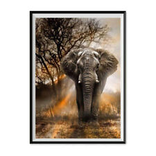 DIY forest elephant Diamond Painting Embroidery Cross Stitch home Decor craftFE