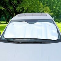 Large Reflective Sunshade Car Van Front Windscreen Visor Sun Shade 130*60cm