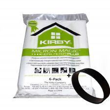 Genuine Kirby Avalir Micro Magic Allergen PLUS HEPA Vac Bags +1 Non Genuine Belt