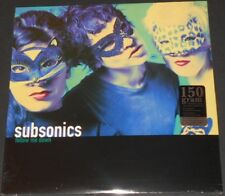 SUBSONICS follow me down USA LP new sealed MAN OR ASTRO-MAN free poster