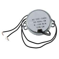 TYC50 AC Synchronous Motor 220V 3RPM 4W 8Kgf.cm Torque CCW//CW H7U6