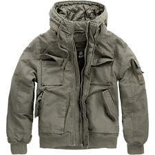Brandit Vintage Bronx chaqueta estilo militar Parka corta de ejercito XL oliva