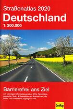 Straßenatlas 2020 Deutschland 1:300000 - GeoMap Karte / Autoatlas