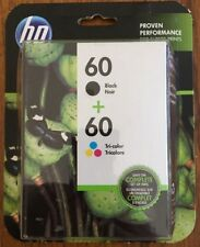 New Genuine HP 60 Black & Color Ink Cartridge DeskJet F4440 F4200 D2660
