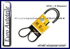 Conti V-Ribbed Belt E46 E36 E38 Z3 For A/C 5PK865