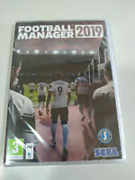Football Manager 2019 Sega - Set For PC Cd-rom Spain nuevo Sealed