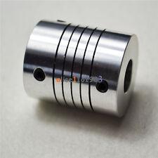 D19L25 CNC Motor 3D PrinterJaw Shaft Coupler 5mm-10mm Flexible Coupling 5x10mm