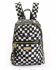 NWT Juicy Couture Black White Nouvelle Pop Nylon Backpack Bag New ($198)
